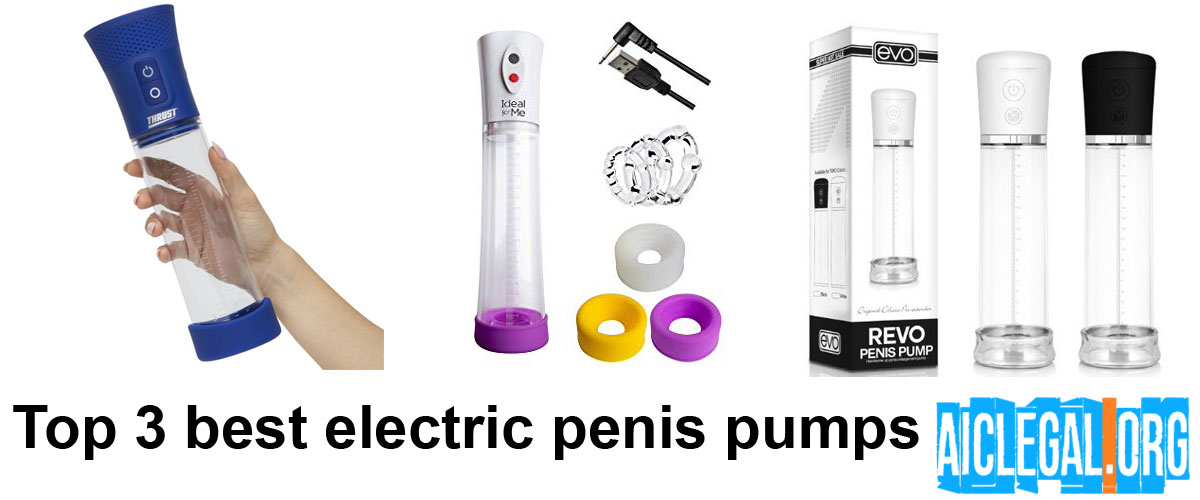 best electric penis pumps 2019