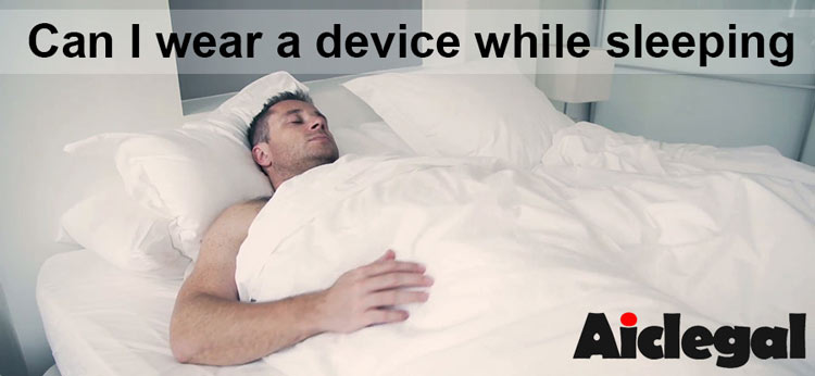 can I wear a penis extender while I sleep