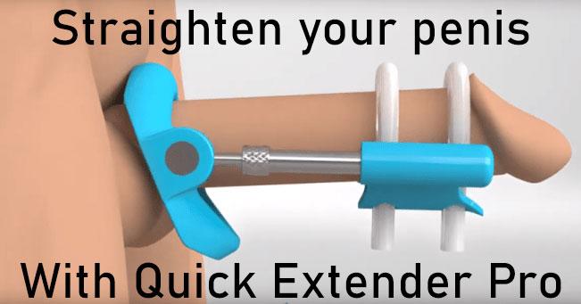 penis straightening device