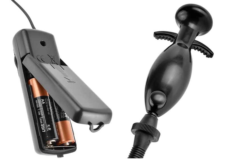 hand pump and 2AA power