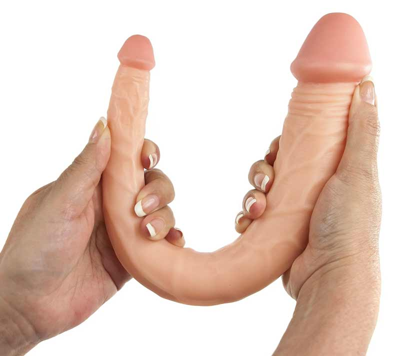 Maxx Men 15 Inch Curved Double Dong
