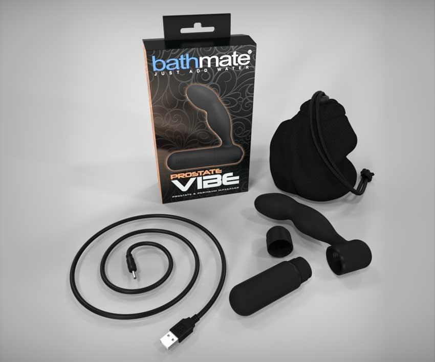Bathmate prostate vibe box