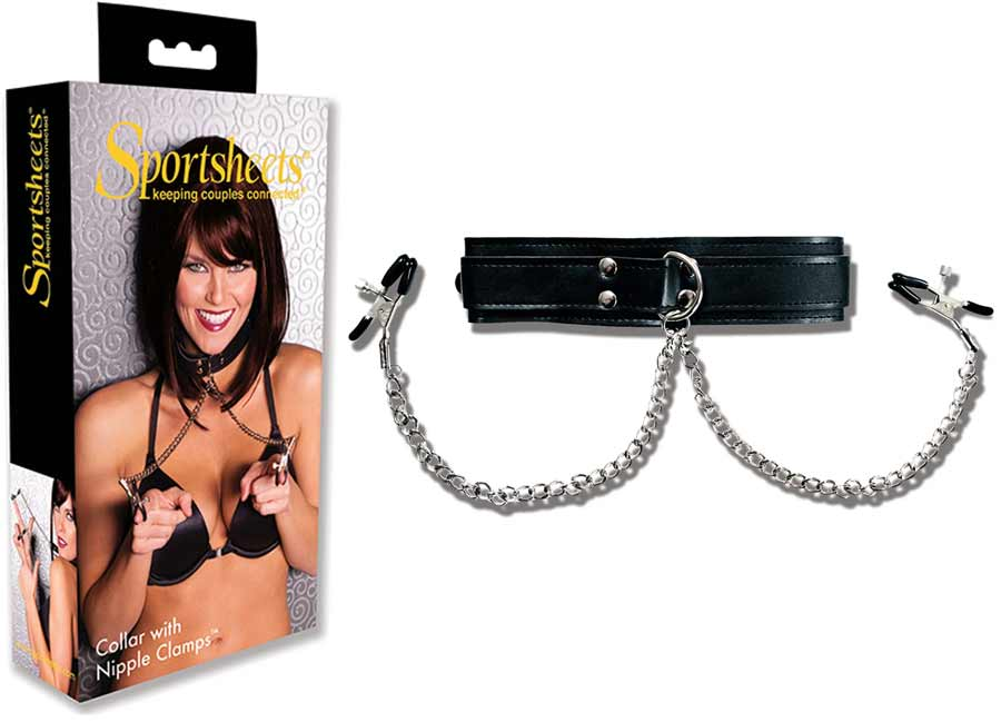 Sportsheets nipple clamps
